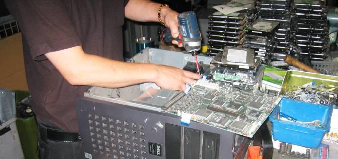 パソコンの廃棄や各種OA機器のリサイクル